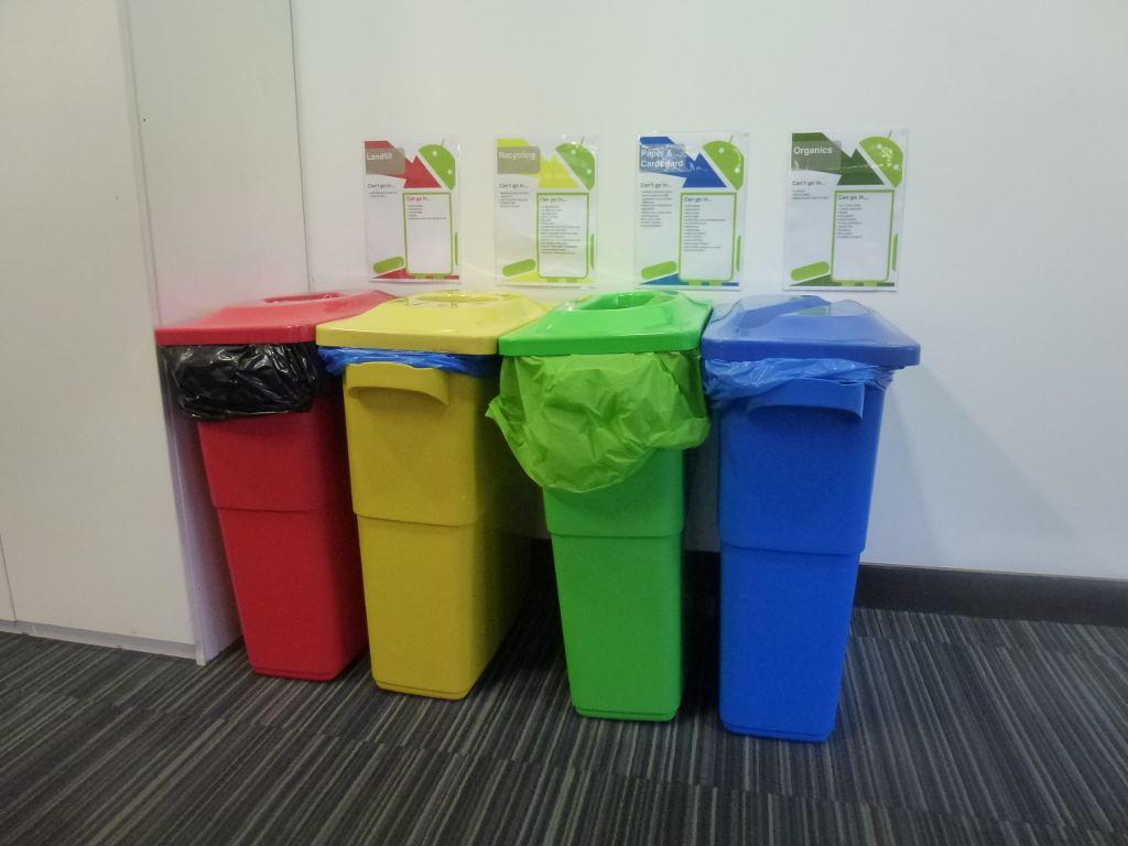 Контейнеры для переработки мусора